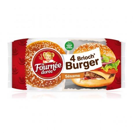 Pain hamburger sésame FOURNEE DOREE
