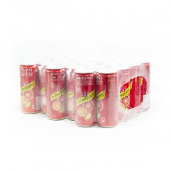 SCHWEPPES AGRUMES 24 X 33CL