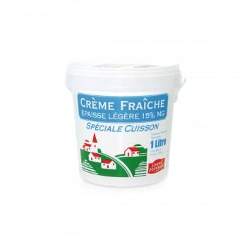CREME FRAICHE EPAISSE 15% 1 L